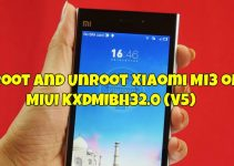 Root and Unroot Xiaomi Mi3 on MIUI KXDMIBH32.0 (V5)