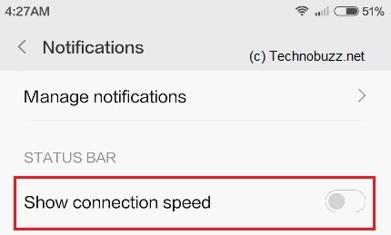 Show-Connection-speed