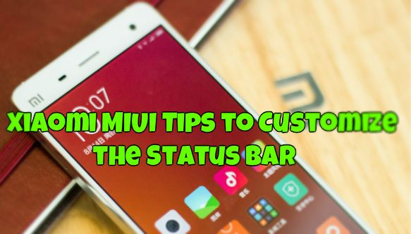 Xiaomi MIUI Tips to Customize the Status Bar