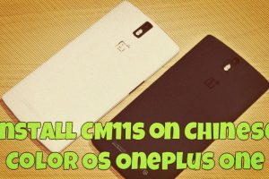 Install CM11s on Chinese Color OS OnePlus One