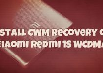 Install CWM Recovery on Xiaomi Redmi 1S WCDMA