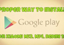 Install Google Play Store on Mi3, Mi4, Redmi 1s