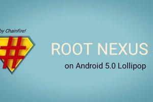 Root Nexus 4 on Android 5 Lollipop