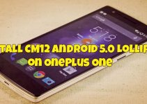 Install CM12 Android 5.0 Lollipop on OnePlus One