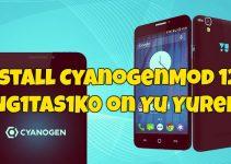 Install CyanogenMod 12S YNG1TAS1K0 on Yu Yureka