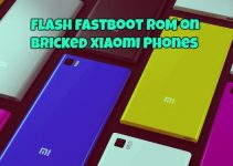 Flash Fastboot ROM Manually on Bricked Xiaomi Phones