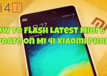 How To Flash Latest MIUI 6 Update on Mi 4i Xiaomi Phone