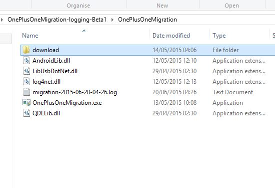 One-Plus-Migration-Tool