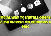 Official Way To Install Oneplus 2 USB drivers on Windows & MAC