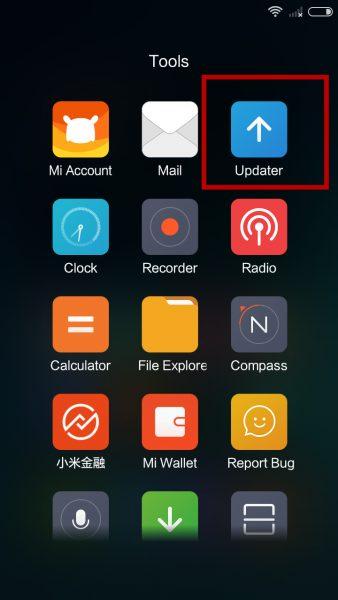 Xiaomi update