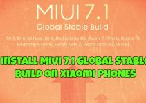 Install MIUI 7.1 Global Stable Build on Xiaomi