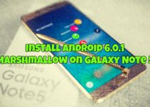 Install Android 6.0.1 Marshmallow on Galaxy Note 5