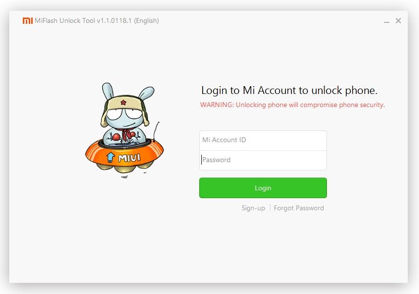 Use Mi Flash Unlock Tool to Unlock Bootloder of Redmi Note 3