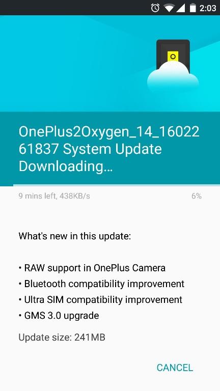 Oneplus-2-update