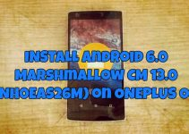 Android 6.0 Marshmallow CM 13.0 (ZNH0EAS26M)