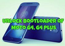 Unlock Bootloader of Moto G4, G4 Plus