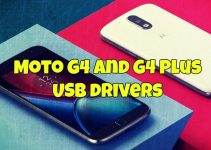 Moto G4 and G4 Plus USB drivers