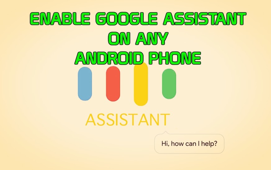 enable-google-assistant-android