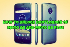 How to Unlock Bootloader of Moto G5 and Moto G5 Plus