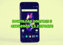 Download OnePlus 5 OxygenOS 4.5.2 Update