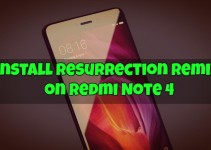 Install Resurrection Remix on Redmi Note 4
