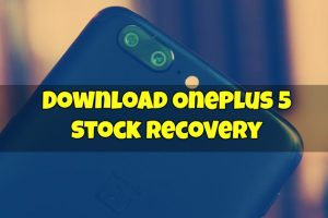OnePlus 5 Stock Recovery