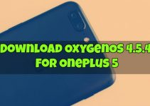 OxygenOS 4.5.4 for OnePlus 5