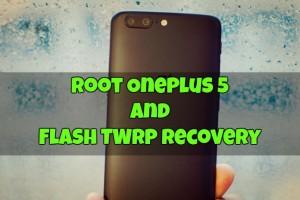 Root OnePlus 5