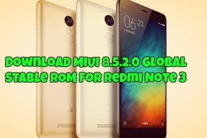 MIUI 8.5.2.0 Global Stable ROM
