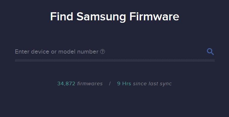 Find-Samsung-Firmware