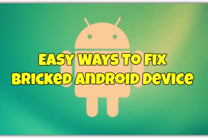 Fix Bricked Android