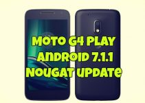 Moto G4 Play Android 7.1.1 Nougat update