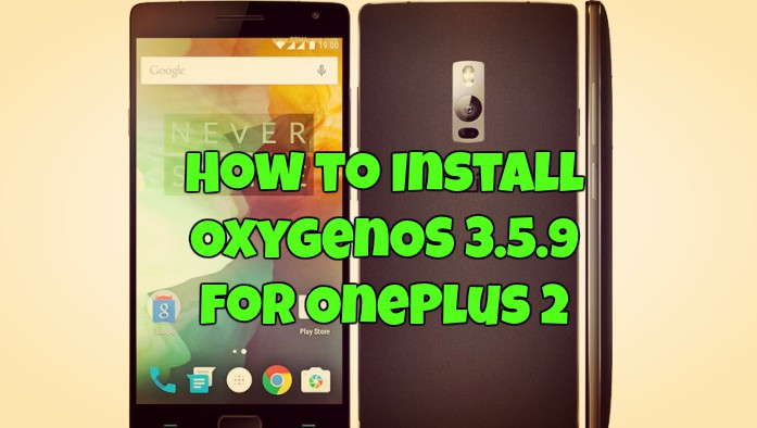 OxygenOS 3.5.9 for OnePlus 2
