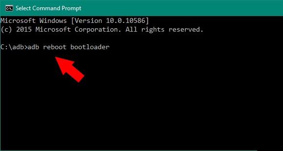 adb reboot bootloader oneplus 5
