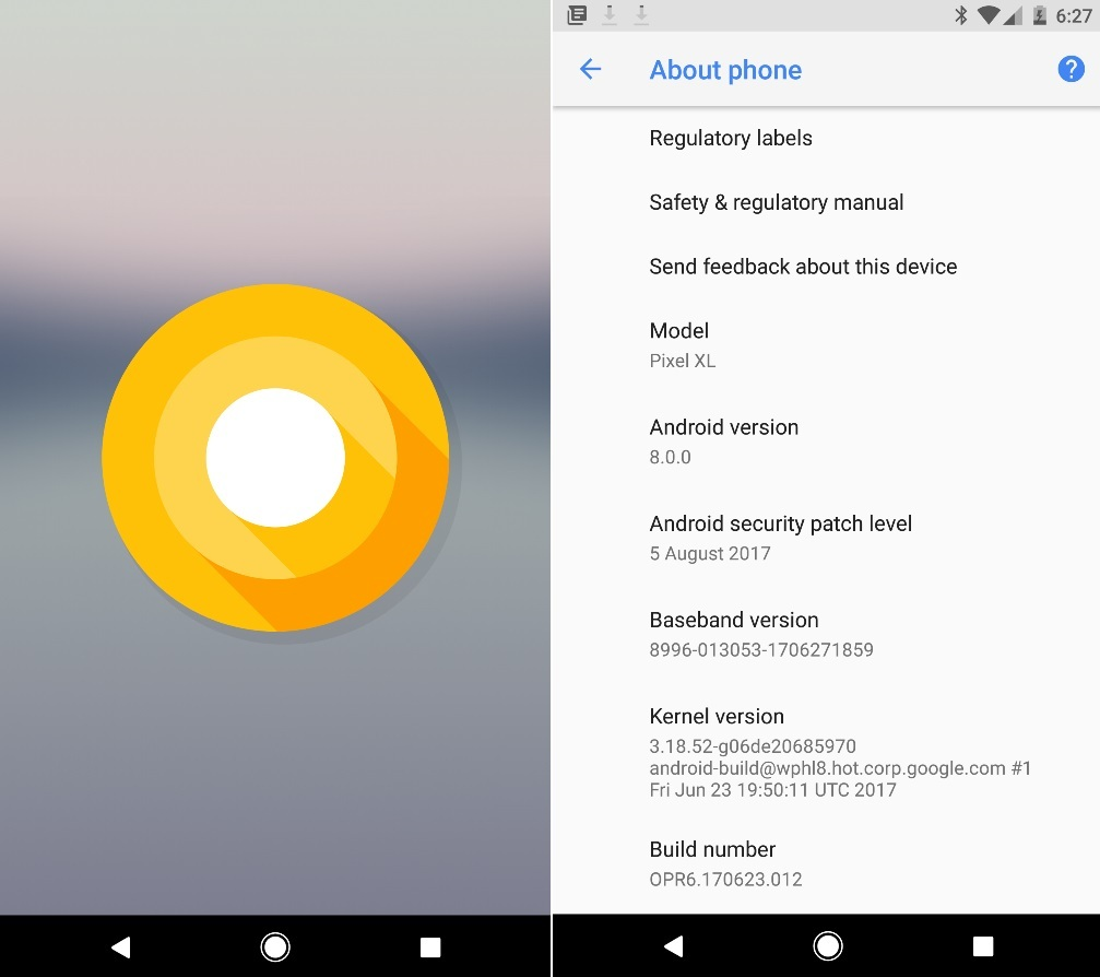 Download and Install Android Oreo on Pixel, Nexus Devices