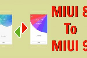 Update MIUI 8 to MIUI 9 without DATA loss