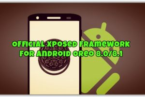 Official Xposed Framework for Android Oreo