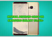 Install Android Oreo on Samsung Galaxy S8