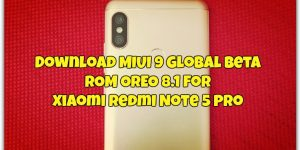 Download MIUI 9 Global Beta ROM for Xiaomi Redmi Note 5 Pro