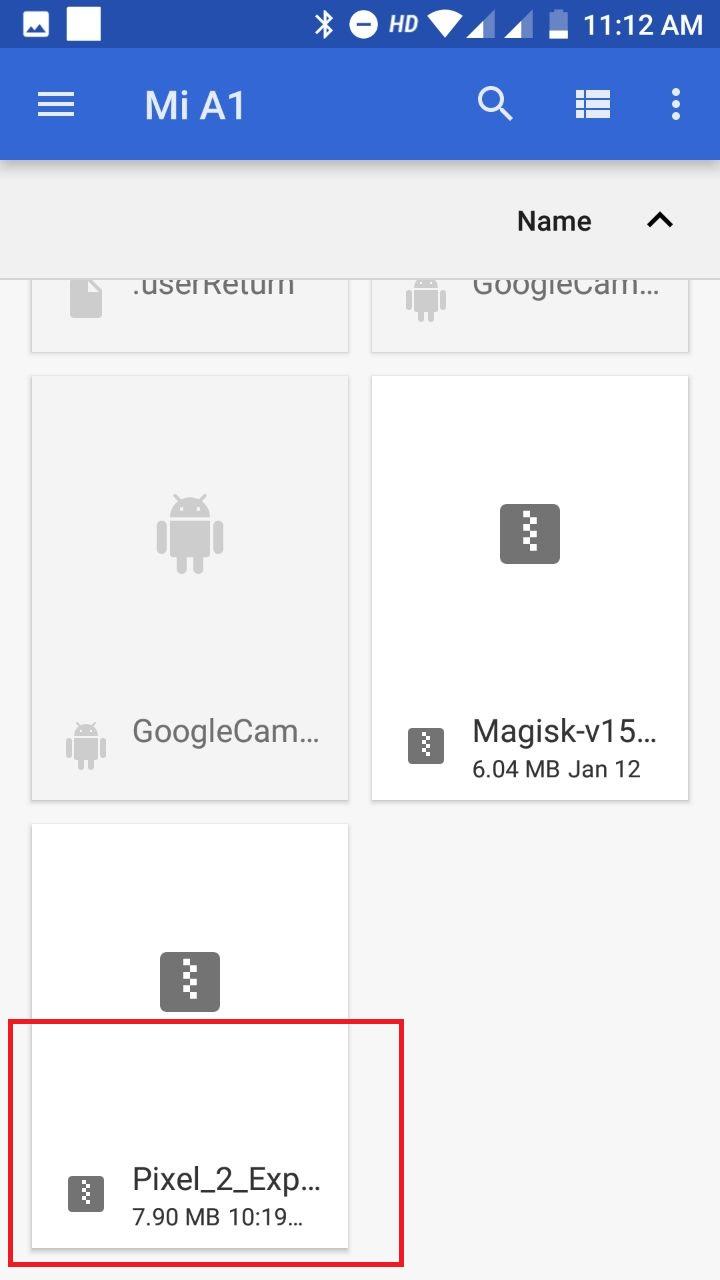 Pixel 2 Experience magisk Module Zip file
