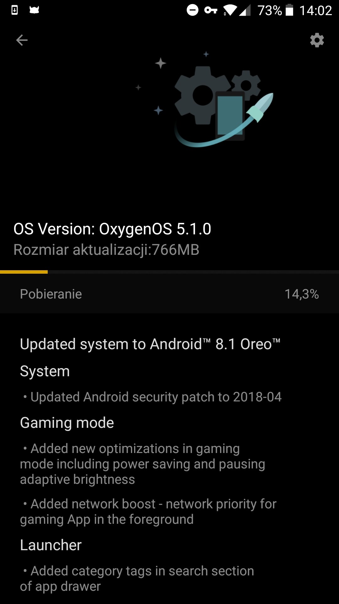 OxygenOS 5.1.0 Oneplus 5