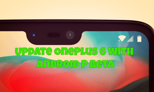 Update OnePlus 6 With Android P Beta