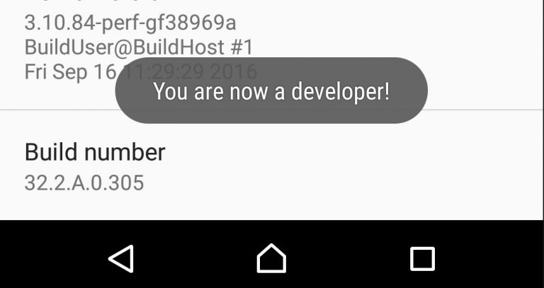 you are now a developer