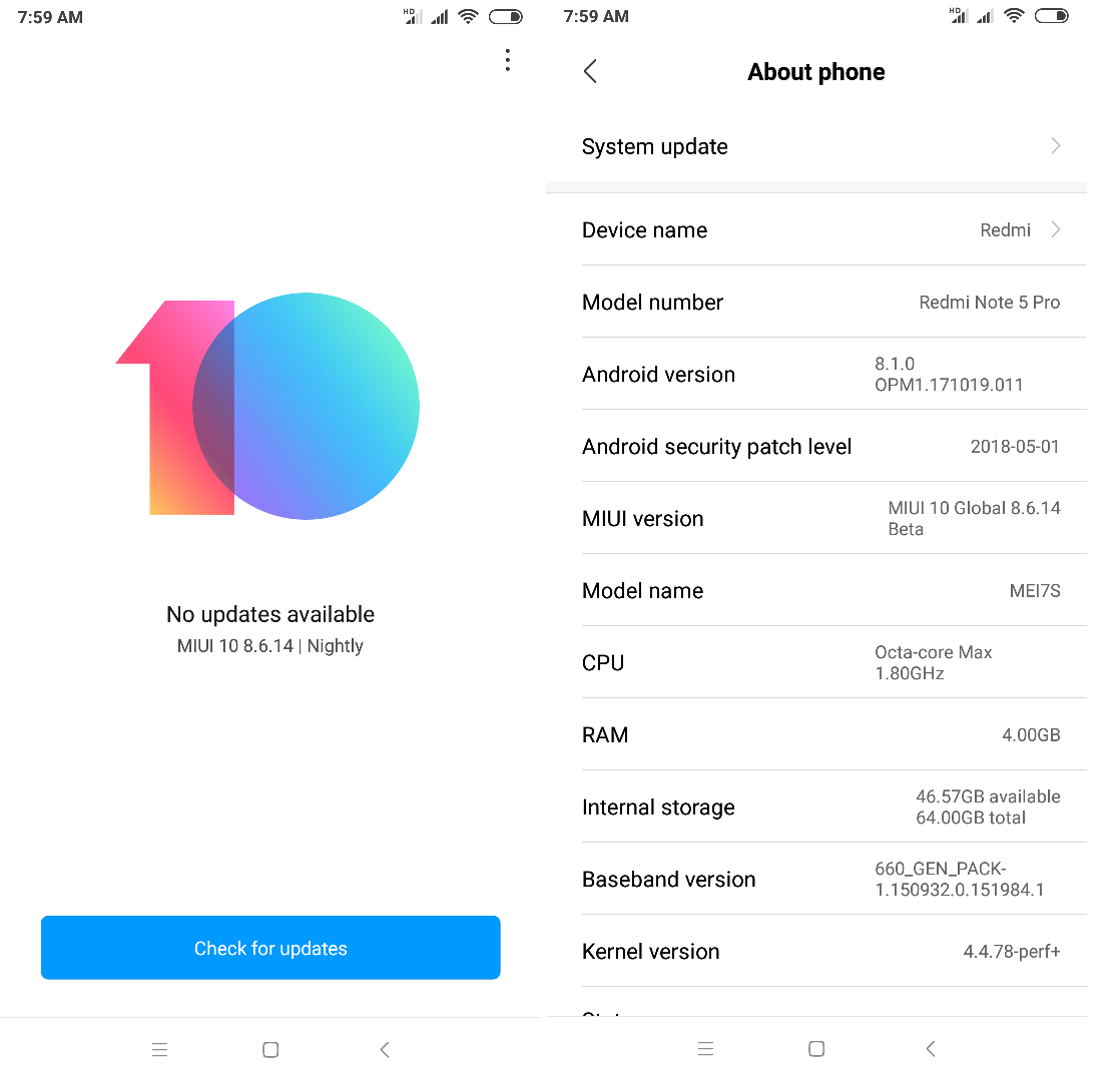 Download MIUI 10 Android 9 Pie On Redmi Note 5 Pro [MIUI 10 3 1 0 ]
