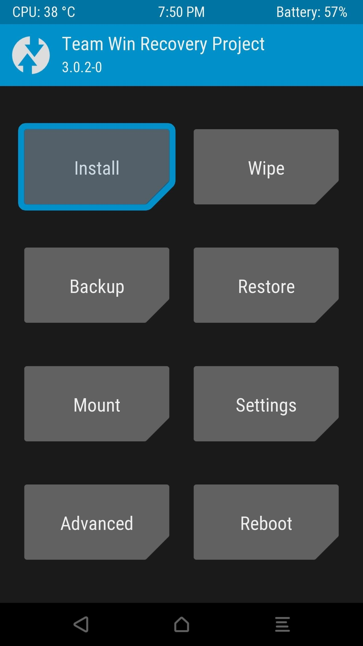 TWRP-install
