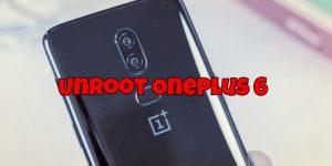 Unroot Oneplus 6