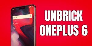 unbrick-oneplus-6