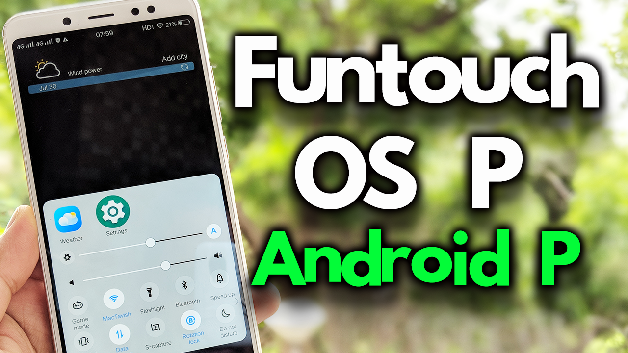 Install Android P Funtouch OS P On Redmi Note 5 Pro