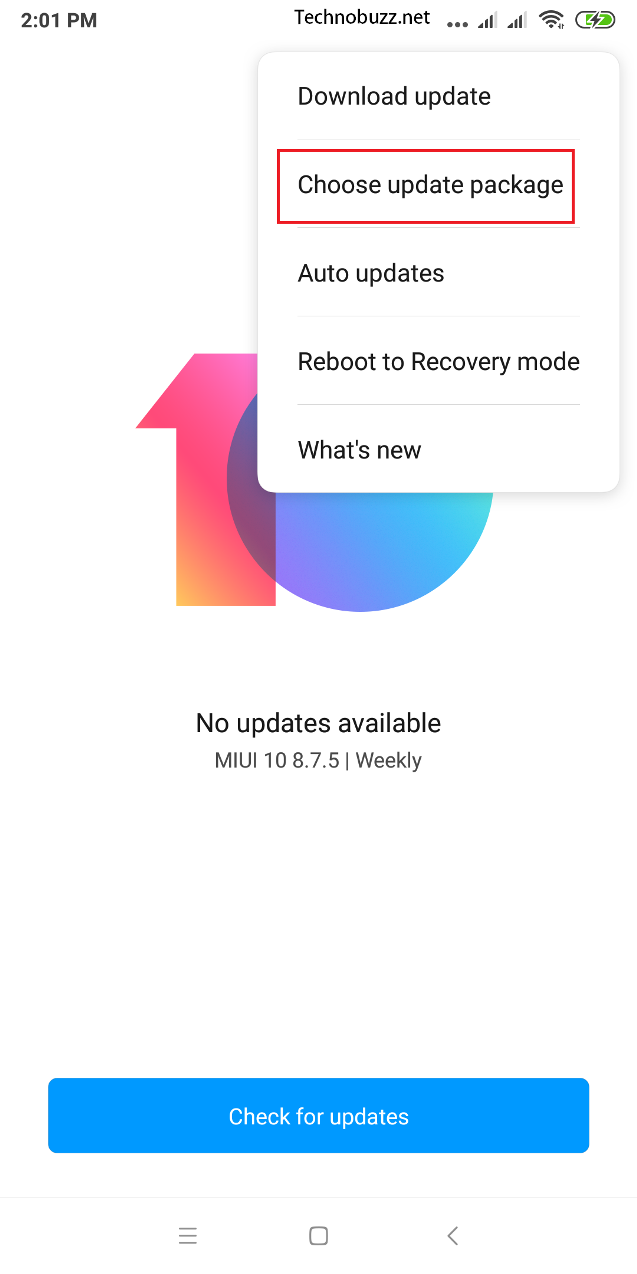 Downgrade MIUI 10 to MIUI 9