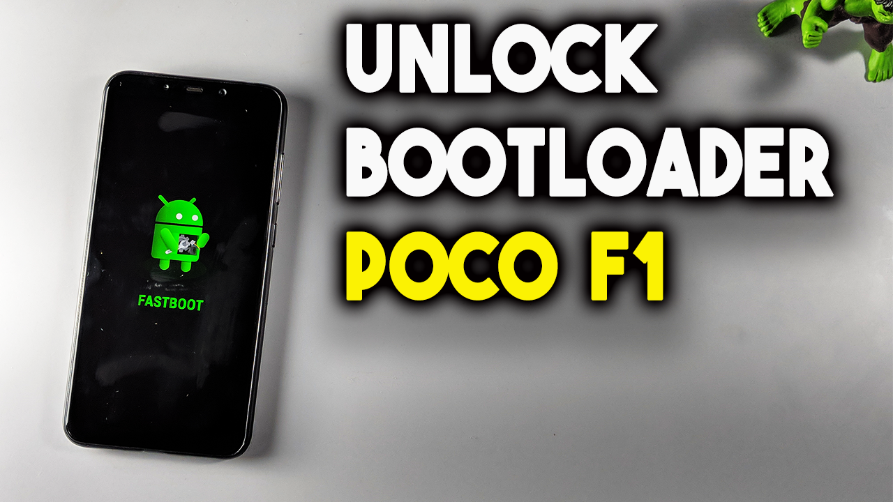 How to Unlock Bootloader on POCO F1 Phone